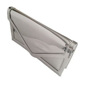 Urban Outfitters Metallic Envelope Clutch